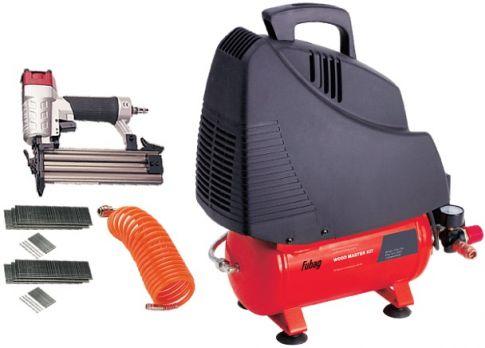 Купить Компрессор воздушный Fubag Wood Master Kit OL 195 6 + 4 предмета цена 7000 руб Москва