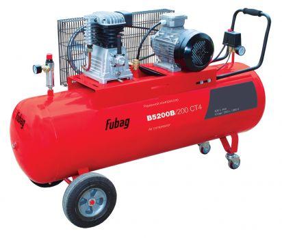 Купить Компрессор воздушный Fubag B 5200 200 CT 4 цена 27600 руб Москва