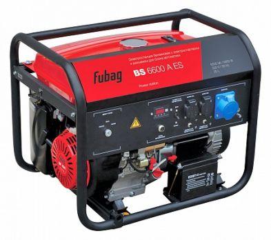 Купить Бензиновый генератор FUBAG BS 6600 DA ES цена 27400 руб Москва