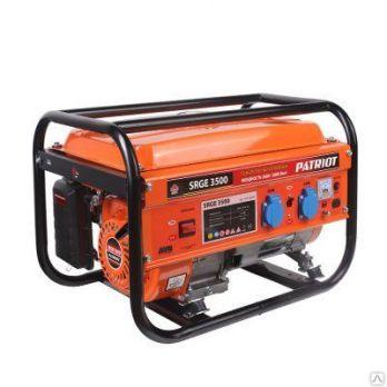 Купить Бензиновый генератор PATRIOT SRGE 3500 цена 9300 руб Москва