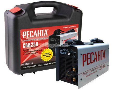 Сварочный аппарат РЕСАНТА САИ 250 (кейс) цена 9650 руб Москва