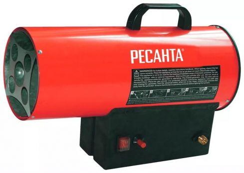 Газовая тепловая пушка Ресанта ТГП-10000 цена 3500 руб Москва