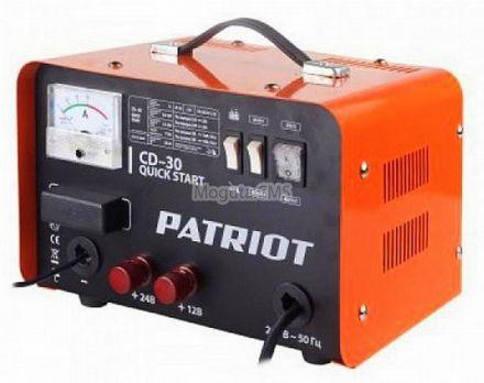Пуско Зарядное Устройство PATRIOT Quik Start CD 30 цена 5890 руб