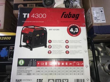 Бензиновый генератор Fubag TI 4300