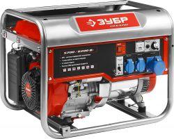 Купить Бензиновый генератор ЗУБР ЗЭСБ 6200 цена 28200 руб Москва