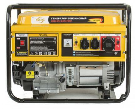Бензиновый генератор DENZEL GE 6900