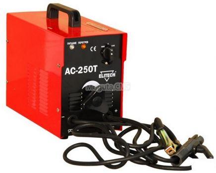 Купить Сварочный трансформатор ELITECH АС 250 Т цена 5900 руб