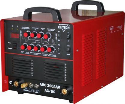 Купить Сварочный инвертор TIG Elitech АИС 200 АДИ  АС DC цена 31400руб