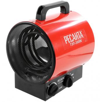 Купить Электрическая тепловая пушка РЕСАНТА ТЭП-3000 К цена 2250 руб Москва