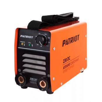 Купить Сварочный аппарат PATRIOT 230 DC цена 7950 руб