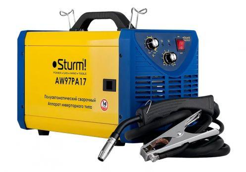 Купить Сварочный полуавтомат STURM AW 97PA 17 цена 13600 руб