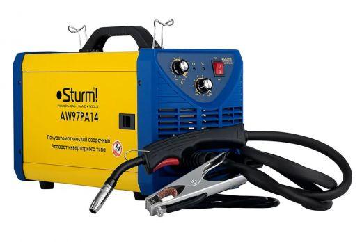 Купить Сварочный полуавтомат STURM AW 97PA 14 цена 18900 руб
