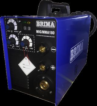 Купить Сварочный полуавтомат BRIMA MIG/ММА-180 цена 14900 руб