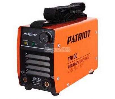 Купить Сварочный аппарат PATRIOT 170 DC цена 10890 руб