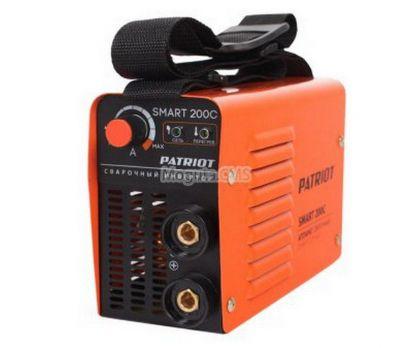 Купить Сварочный аппарат PATRIOT  SMART 200С кейс Цена 8460 руб