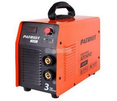 Купить Сварочный аппарат PATRIOT 230 PFC цена 14480 руб