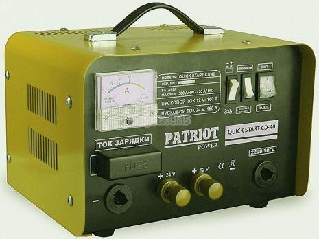 Пуско Зарядное Устройство PATRIOT Quik Start CD 40 цена 6580 руб