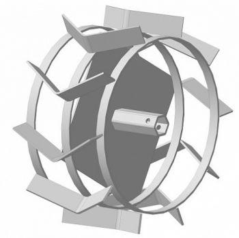 Грунтозацепы для мотоблока (390х190 мм; 23 мм; 2 шт.) Целина 010138