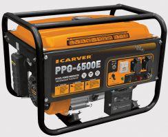 Бензиновый генератор Carver PPG 6500 Е
