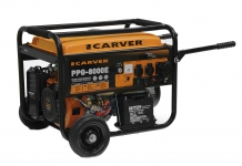 Бензиновый генератор Carver PPG 8000 Е