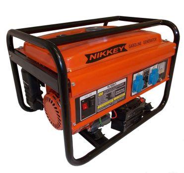 Купить Бензиновый генератор Nikkey PG 4000 цена 12600 руб Москва
