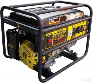 Купить Бензиновый генератор Huter DY 5000 L цена 17500 руб  Москва