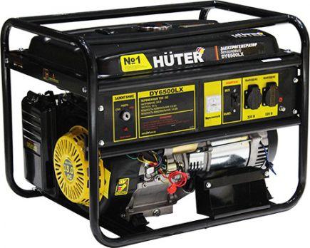 Купить Бензиновый генератор Huter DY 6500 LX цена 21990 руб Москва