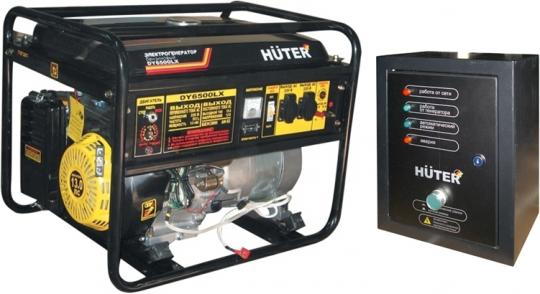 Купить Бензиновый генератор Huter DY 6500 LX с АВР цена 28850 руб  Москва