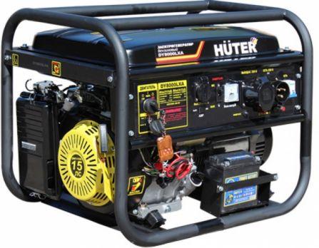 Купить Бензиновый генератор Huter DY 8000 LXА цена 30900 руб  Москва
