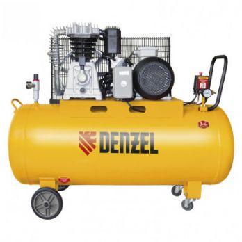 Компрессор Denzel DR3000/200, масляный ременной