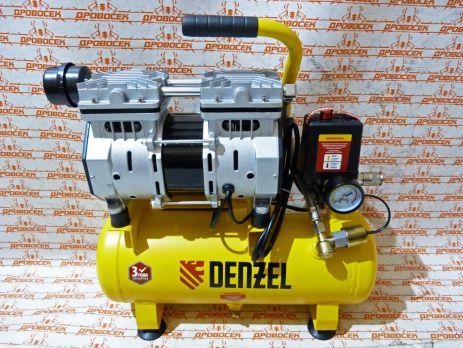 Компрессор Denzel DLS650/10 безмаслянный малошумный