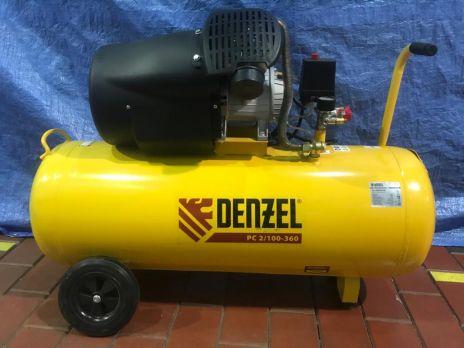 Компрессор воздушный Denzel PC 2/100-360