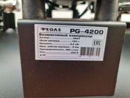 Бесшумный компрессор Pegas Pneumatic PG-4200 безмасляный_3