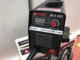 Инверторный  сварочный аппарат A-IPOWER AI140